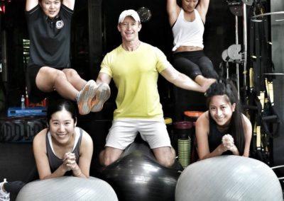 professional personal trainers in bangkok